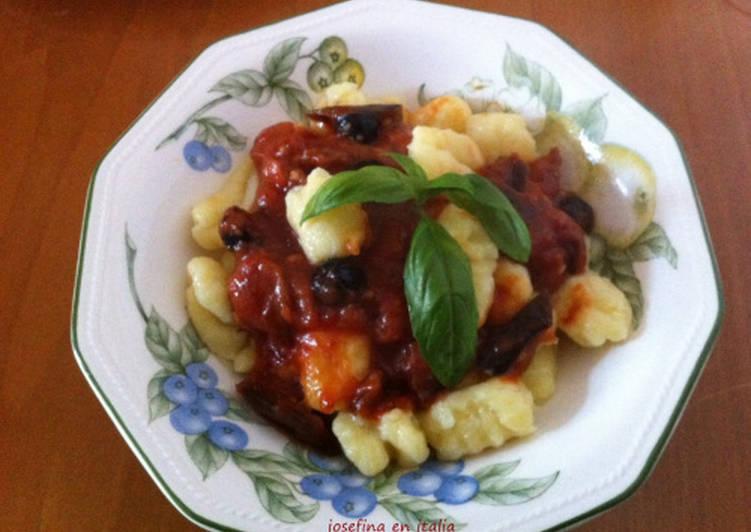 Como se hacen los ñoquis de papas/ Gnocchi di patate