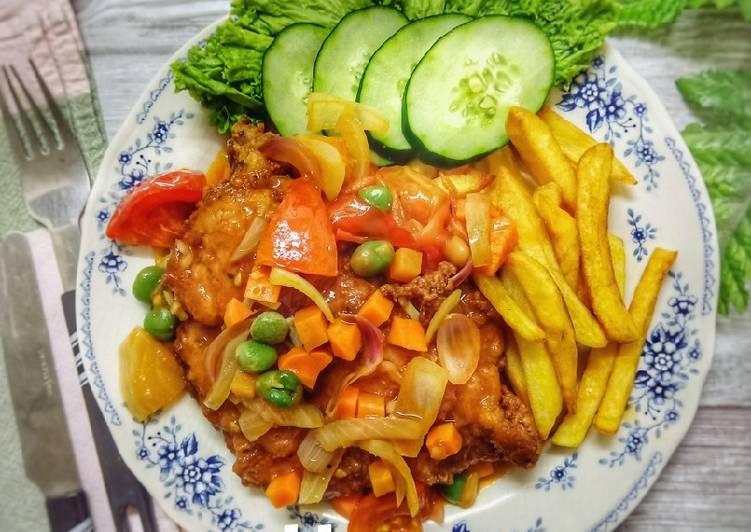 Hainanese Chicken Chop - velavinkabakery.com