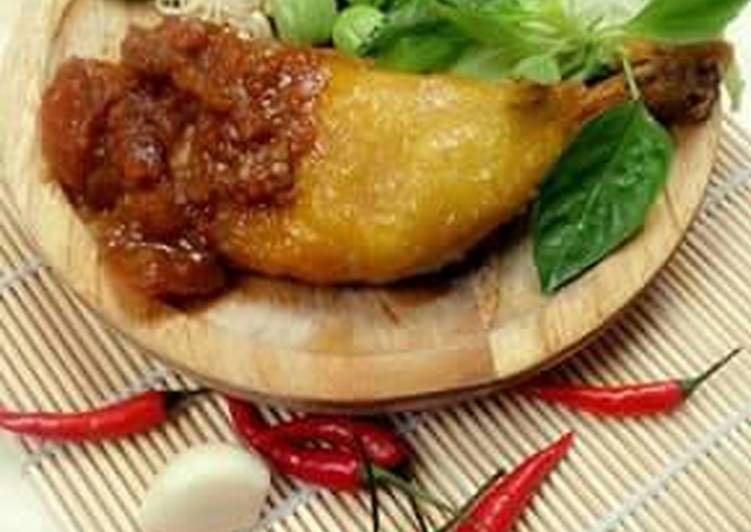 Sambal Ayam penyet