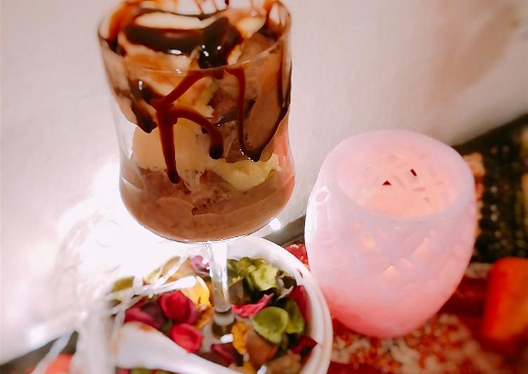 Steps to Prepare Perfect Chocolate coffee ice cream