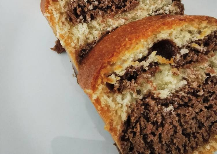 Recette Délicieux Gâteau marbré