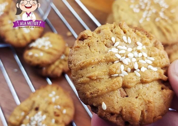 Vegan Peanut Butter Cookies alaMetut 👩🍳