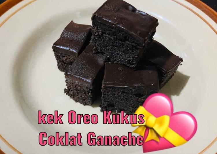 Resep Kek kukus Oreo Coklat Ganache - Resep Enak Indonesia