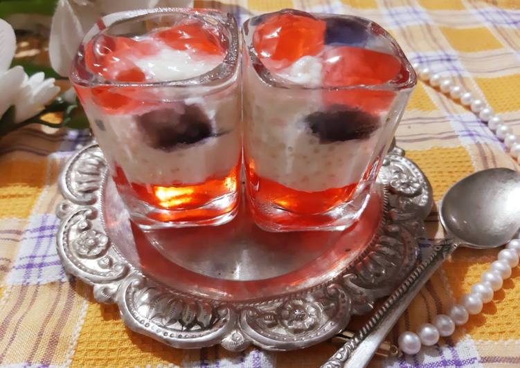 Simple Way to Prepare Quick Sago/Tapioca kheer & jelly shorts
