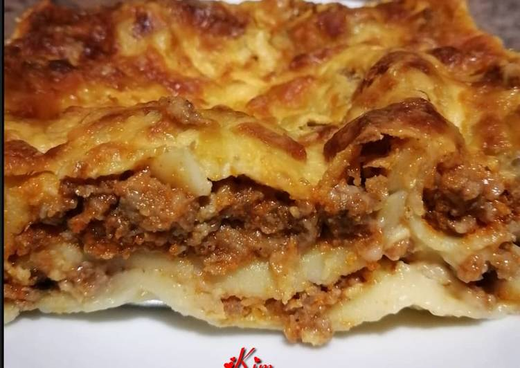 Recipe of Perfect Mince Lasagne