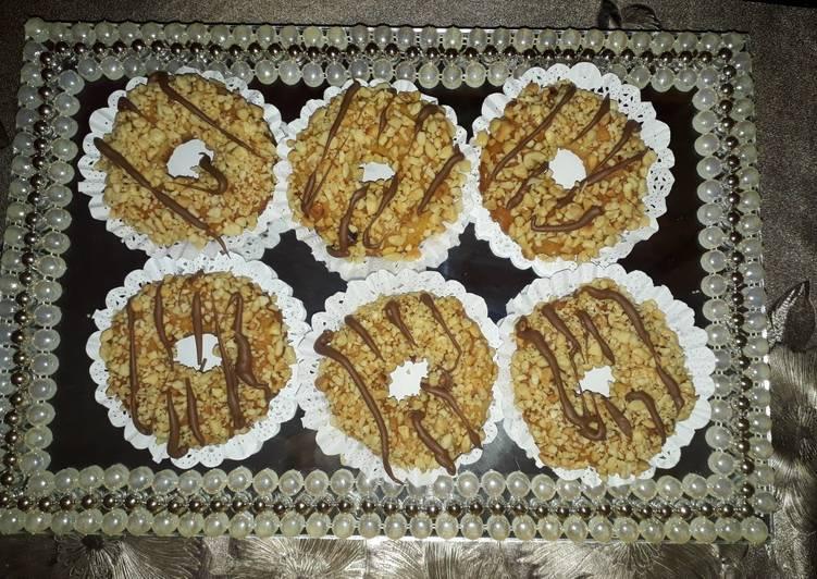 Bracelets au cacahuètes