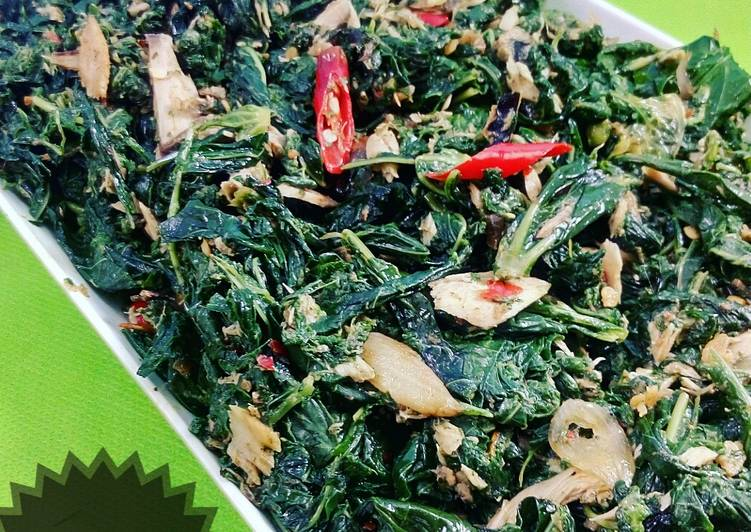 Resep Tumis Tongkol Daun Singkong Yang Enak Resep Masakanku