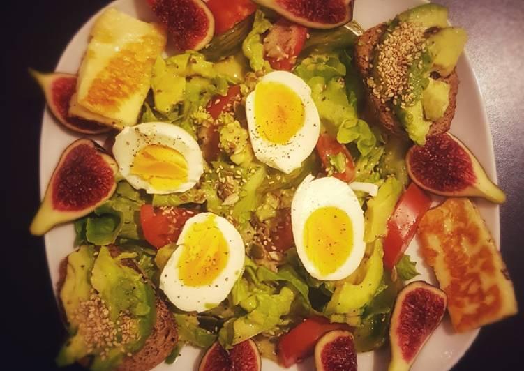 Grosse salade composée