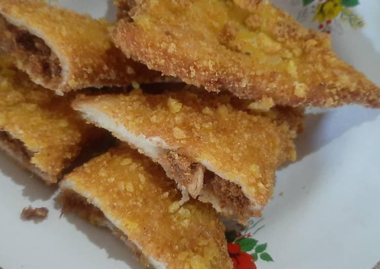Roti Goreng Isi Abon