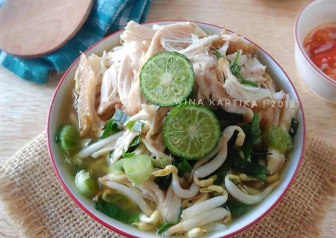 Soto Kudus / Soto Ayam Kuah Bening