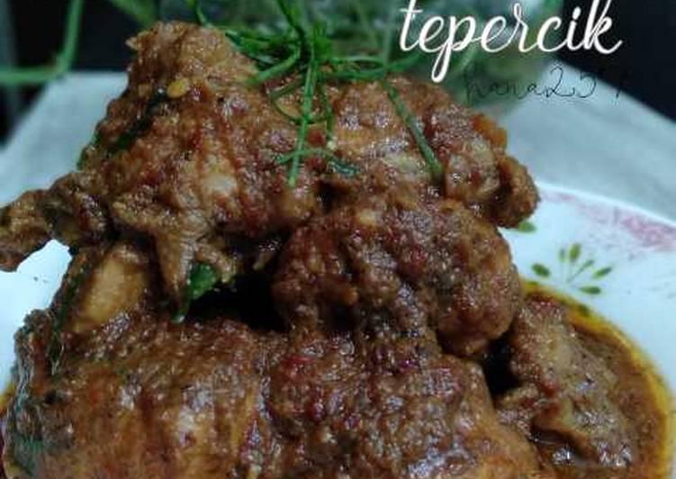 Ayam rendang tok tepercik - velavinkabakery.com