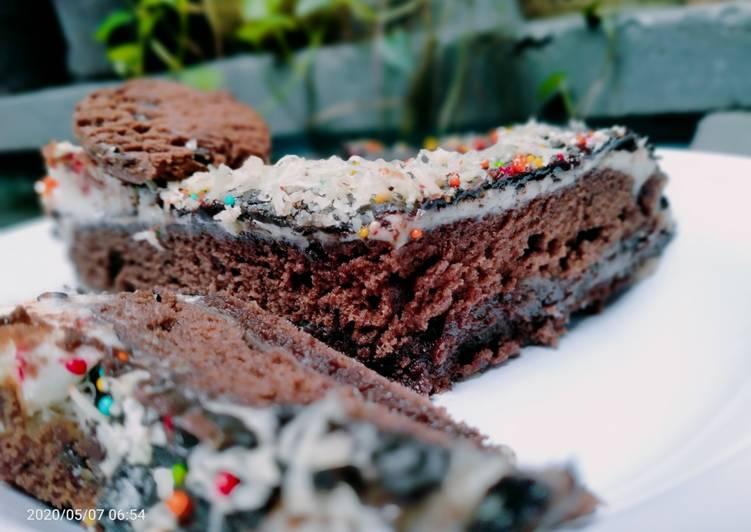 MANTAP @ Resep: Blackforest/ kue ultah brownies kukus yang gurih
