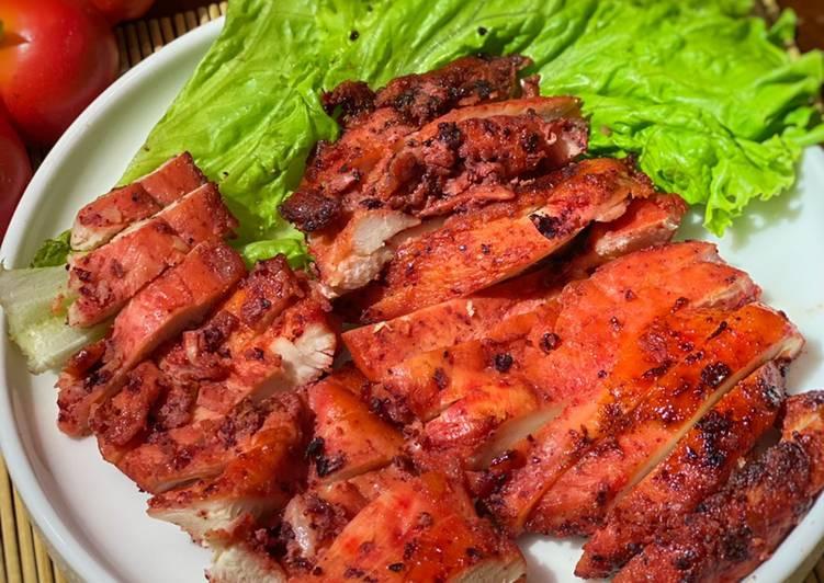 Ayam Charsiu (halal version) ala Tiger Kitchen