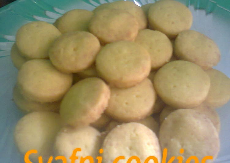 Fingers short bread (cookies tanpa telur)