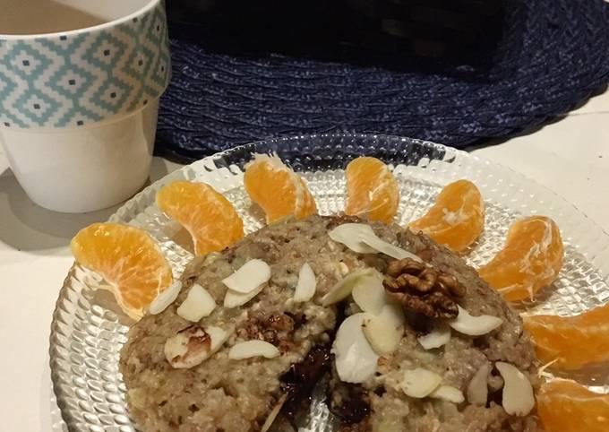 Bowl cake noix chocolat banane