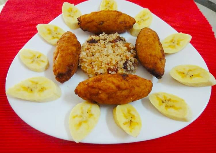 Steps to Prepare Ultimate Stuffed Banana