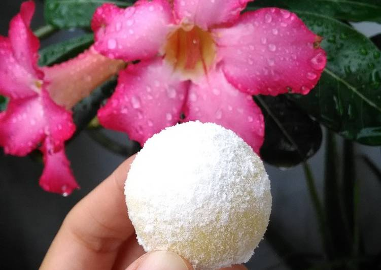 Langkah Mudah untuk Membuat Putri salju (Cheesy Snow ball), Enak Banget