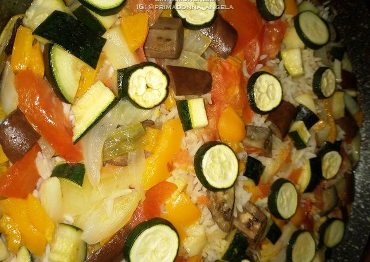 Vegetable Pilaf (Vegetarian Dish)