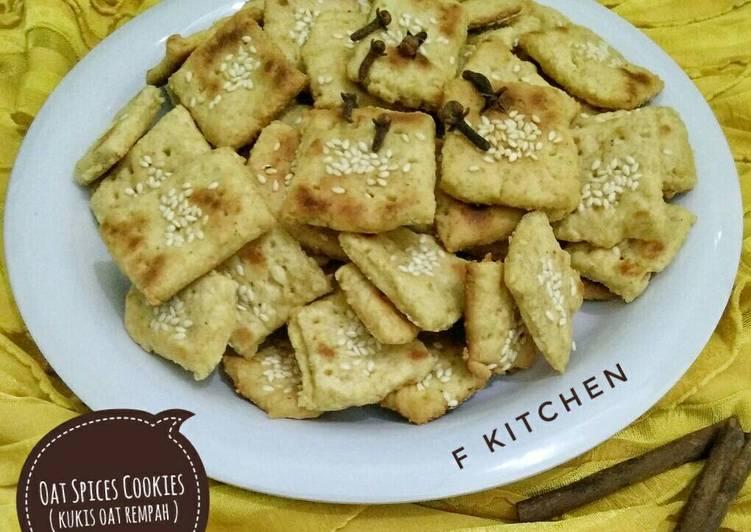 Oat Spices Cookies (teflon) #rempahsahabatdapurku