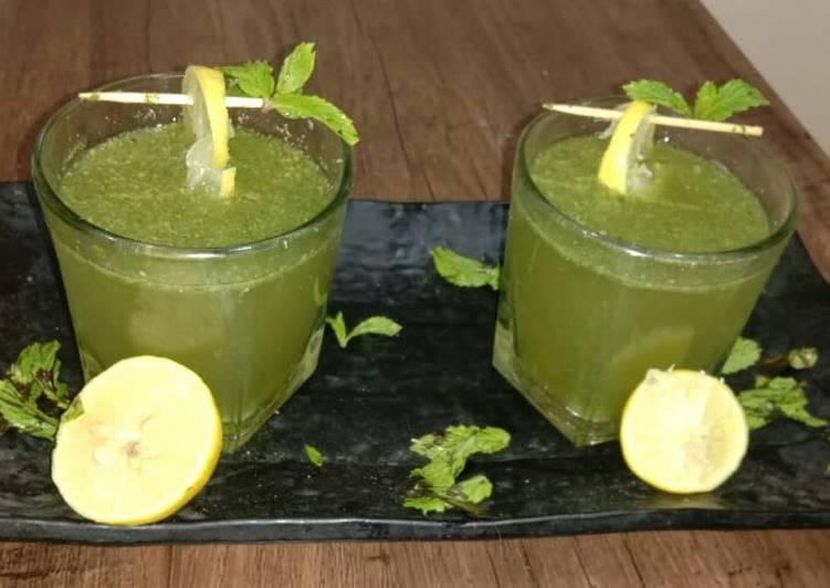 Recipe of Perfect Nimbu pudina sharbat