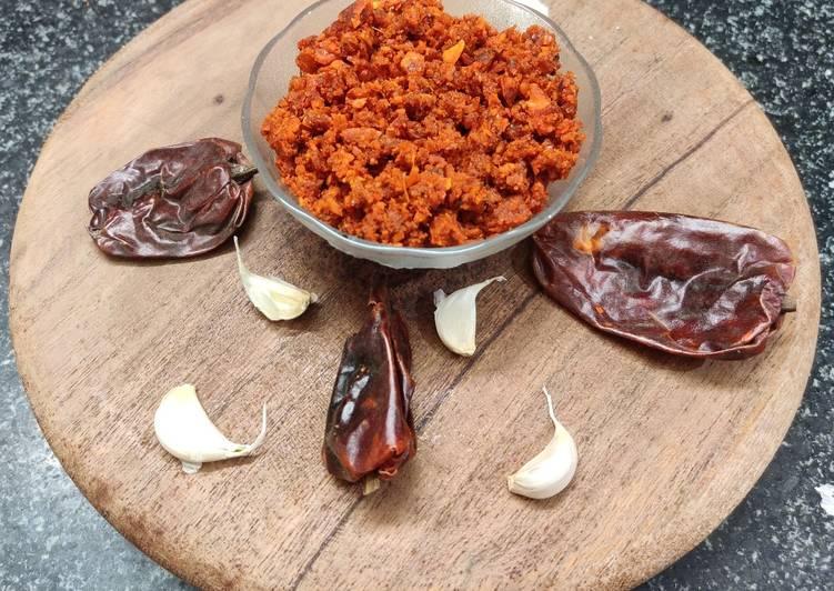 25 Minute Easiest Way to Prepare Fall Vada Pav Garlic Chutney !!