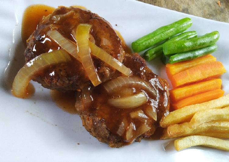10 Resep: 11.2. Beef steak patty ala Phie Kekinian