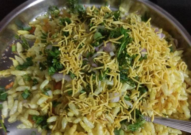 Girmit recipe/masala puffed rice