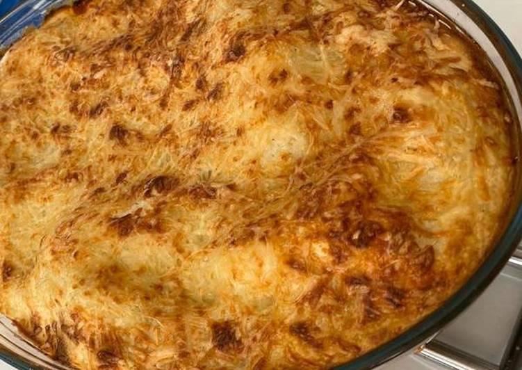 Lasagne au légumes et poulet