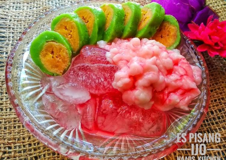 Resep Es pisang ijo / es palu butung oleh Naads_Kitchen - Cookpad