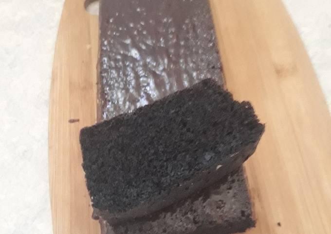Gâteau chocolat rapide avec trois ingrédients