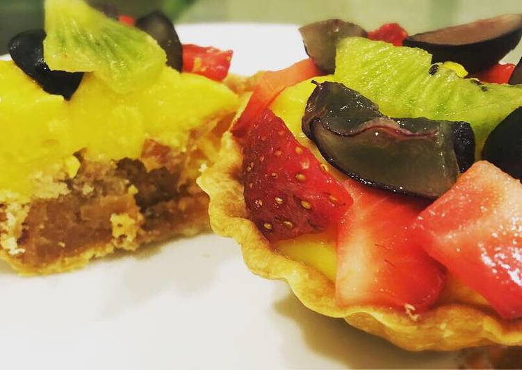 Easiest Way to Make Perfect Colourful Tarts