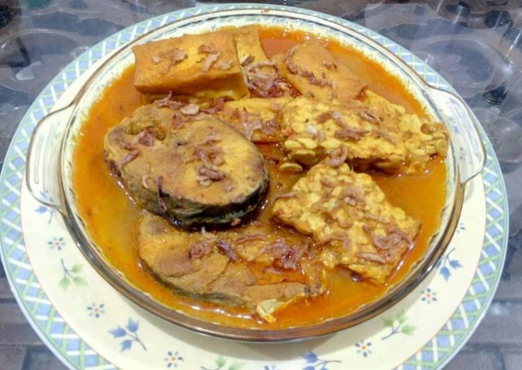 Cara Gampang Menyiapkan Sayur Mangut Ikan Tempe & Tahu ala Dapoer Mita, Menggugah Selera