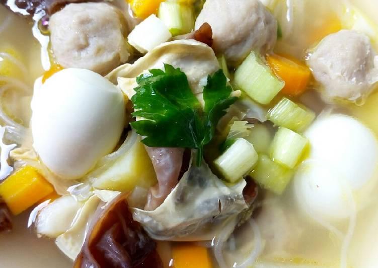 Resep Sup Kimlo Yang Mudah Lezat