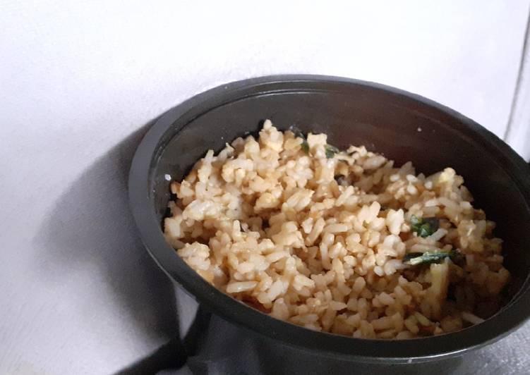 Nasi Goreng Telur (Resep Mudah)