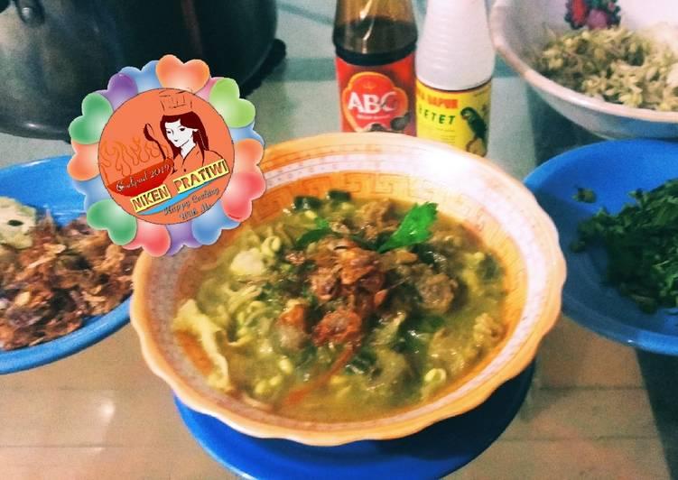 Soto Sapi Kuah Kuning 🥗😘