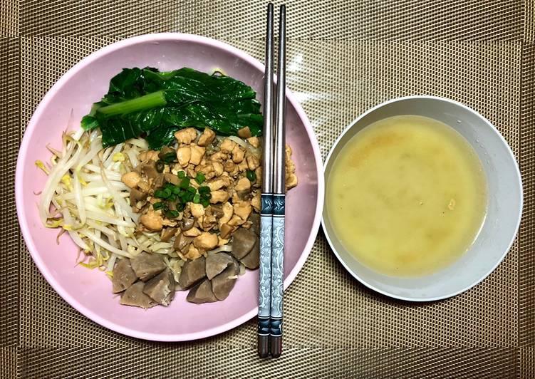 Resep Bakmi ayam jamur Yang Mudah Bikin Ngiler