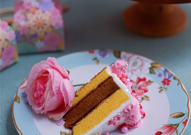 Lapis Surabaya Tanpa Pengawet | kue tart ulang tahun #homemadebylita