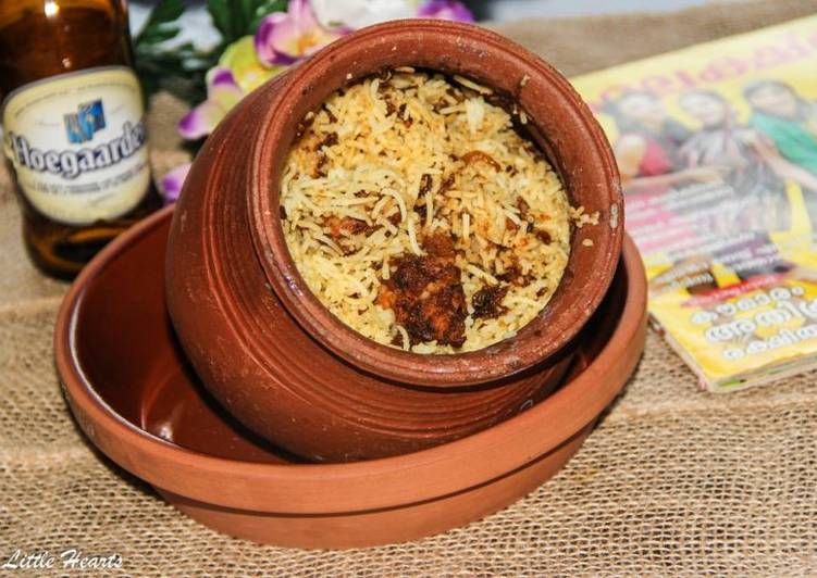 Recipe: Good Kerala Style Claypot Chicken Biryani