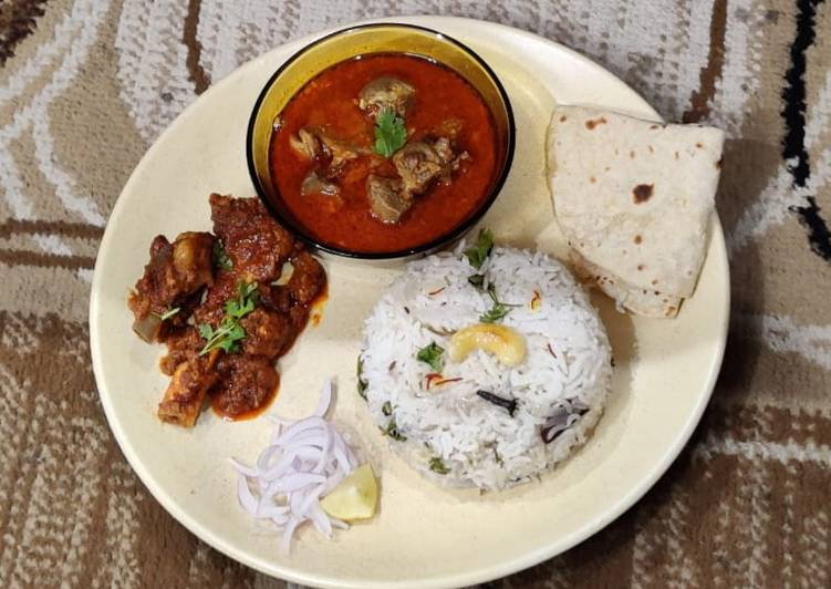 What is Dinner Ideas Special Maharashtrian Sukha(Dry) Ulha (Gravy or curry) Mutton
