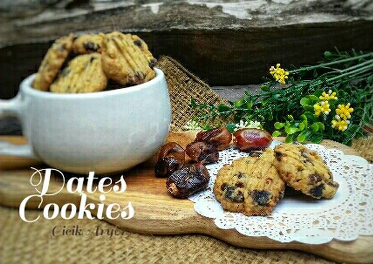 Kukis kurma (Dates Cookies)