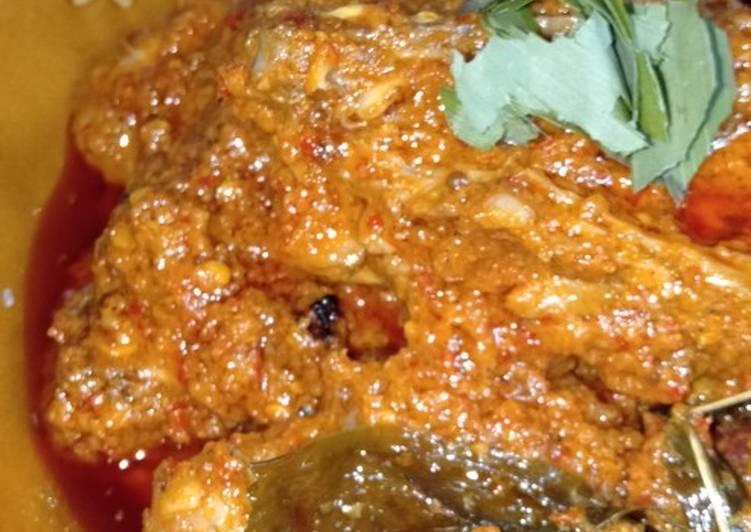 resep cara membuat Rendang Ayam Versi Orang Jawa