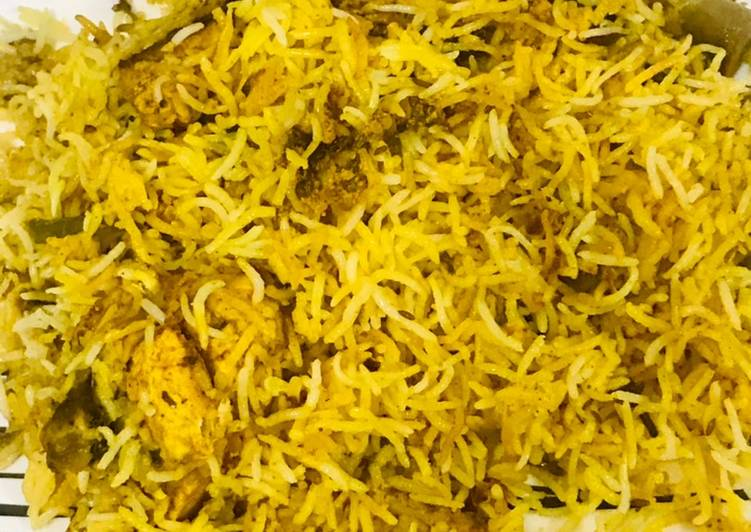 Saffron's chicken dum biryani
