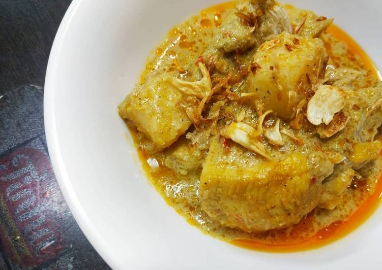 Cara Membuat Kari Ayam Mantaaabbb Beettt enak dan mudah