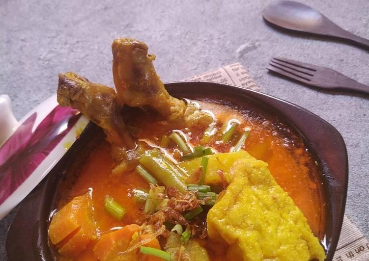 Kare Ayam, Tahu dan Sayur - cookandrecipe.com