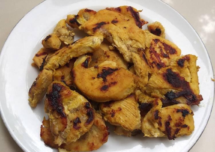 Ayam filet panggang asam manis