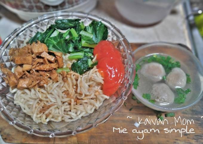 Mie Ayam Simple