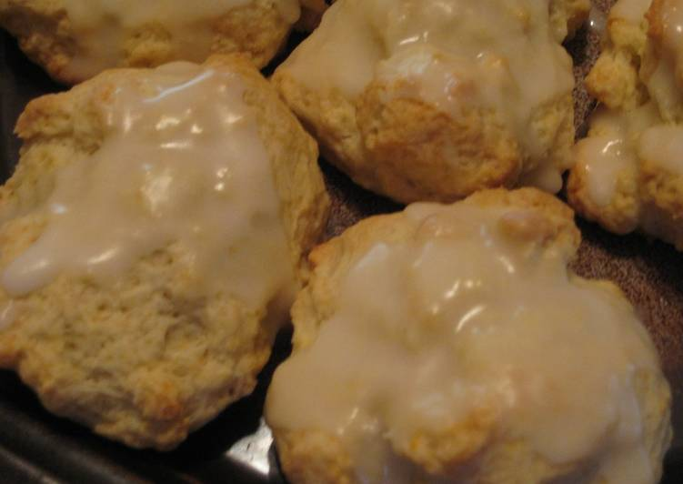 Lemon Hot Biscuit (Scone)