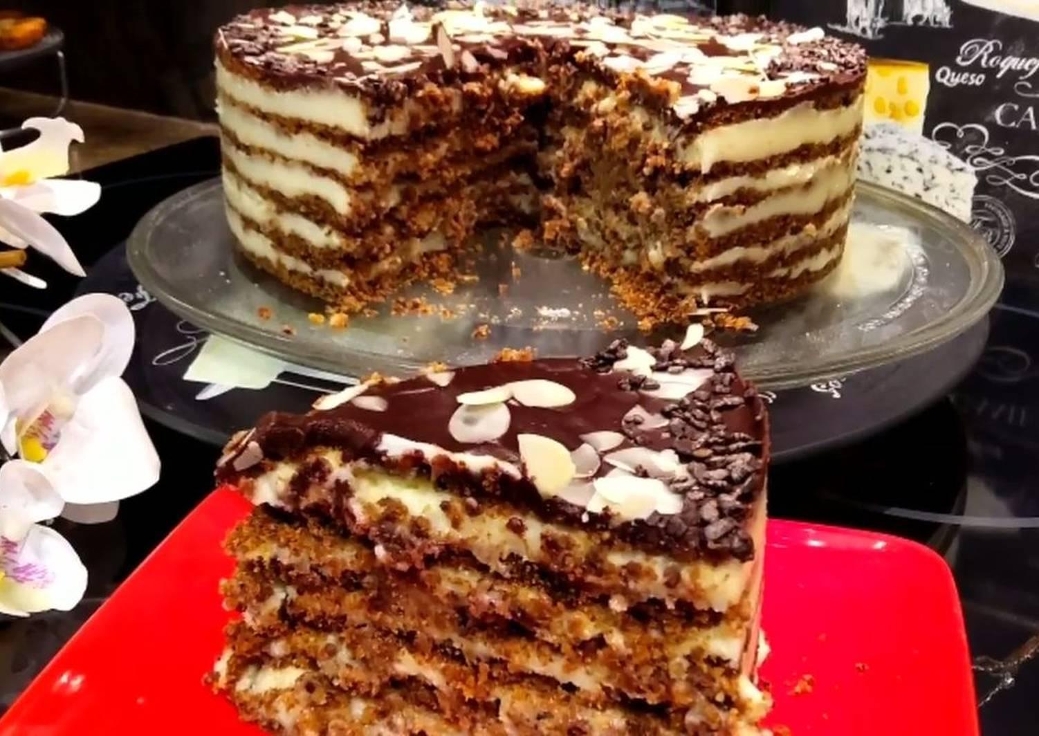 рецепт бюджетного торта с фото ложные лисички