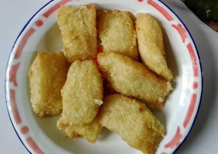 Uli (ketan) goreng