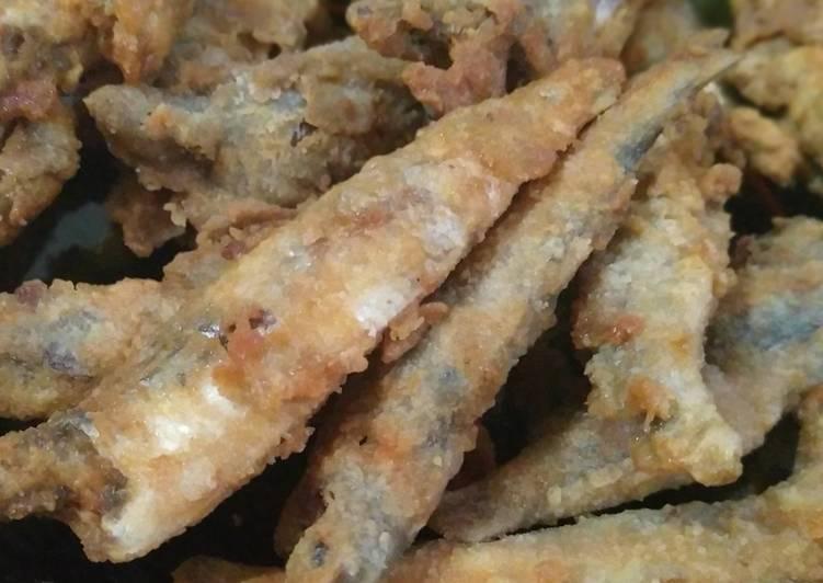 Ikan goreng tepung (paling simpel)